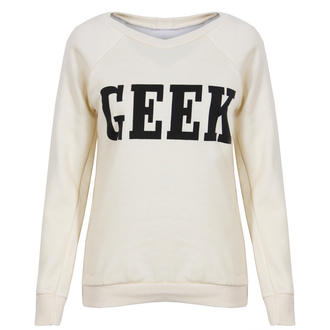 View Item Cream Geek Sweatshirt